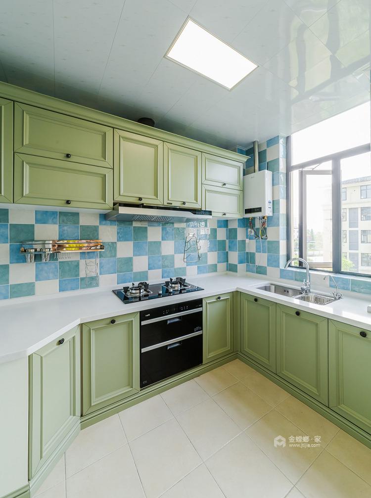 158平人文嘉园地中海风格-宁静闲适,自然安详-厨房