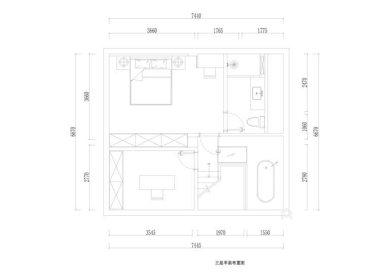 220平建发独墅湾现代风格-简单纯粹的雅致大宅-平面设计图及设计说明