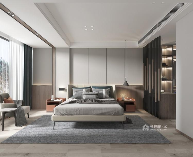 220平建发独墅湾现代风格-简单纯粹的雅致大宅-卧室效果图及设计说明