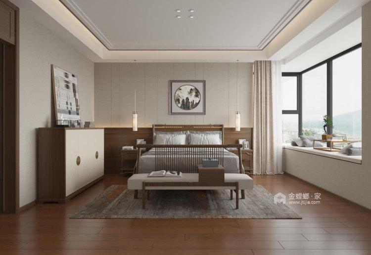 180平麓山霖语新中式风格-卧室效果图及设计说明