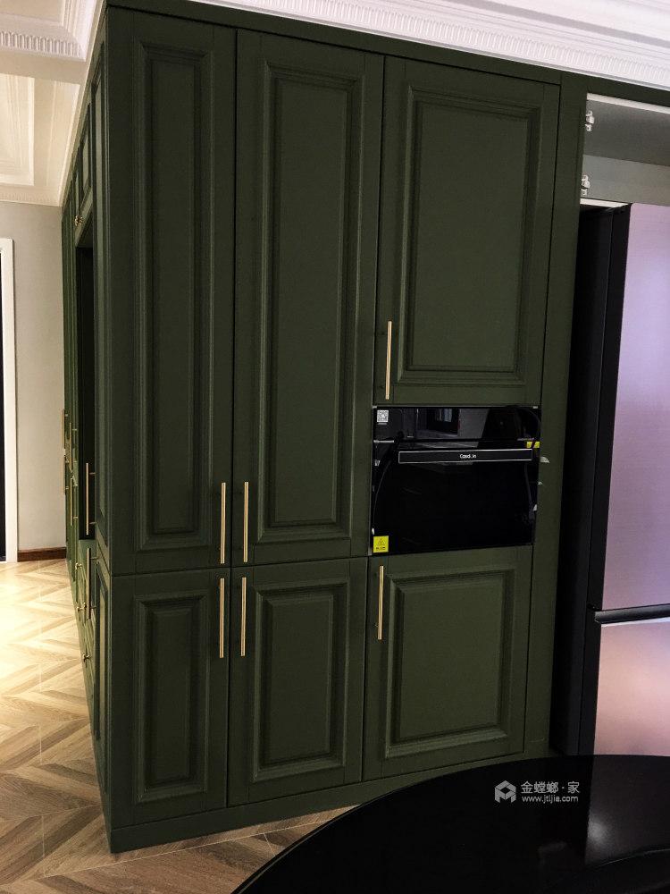 120平万达华府美式风格-厨房