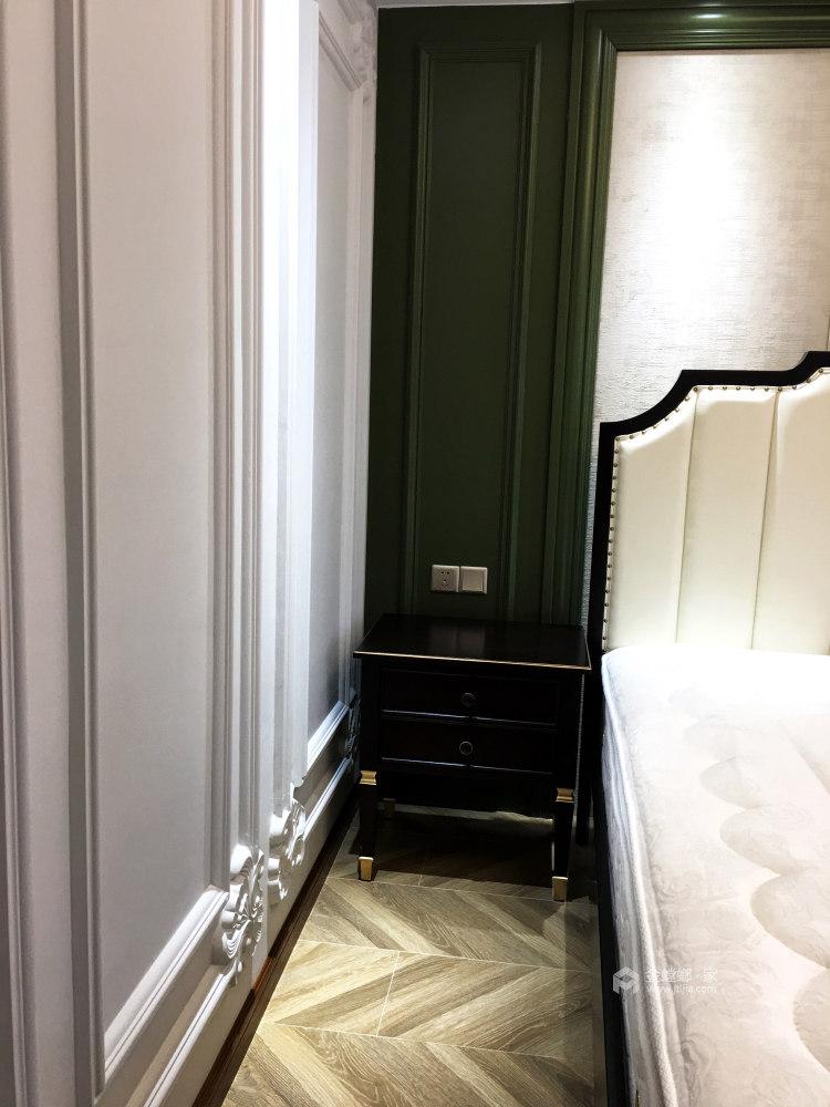 120平万达华府美式风格-卧室效果图及设计说明