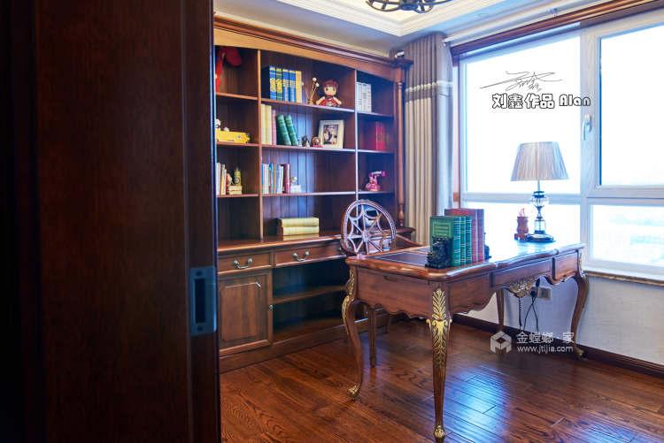 140平丽丰一品美式风格-浪漫不羁的美式-卧室效果图及设计说明