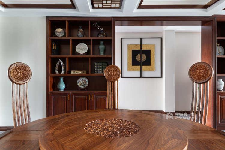 240平丽丰一品中式风格-光阴潺流水,云深不知处-餐厅效果图及设计说明