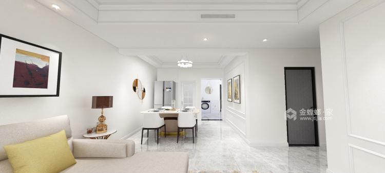 125平领地国际公馆现代风格-餐厅效果图及设计说明