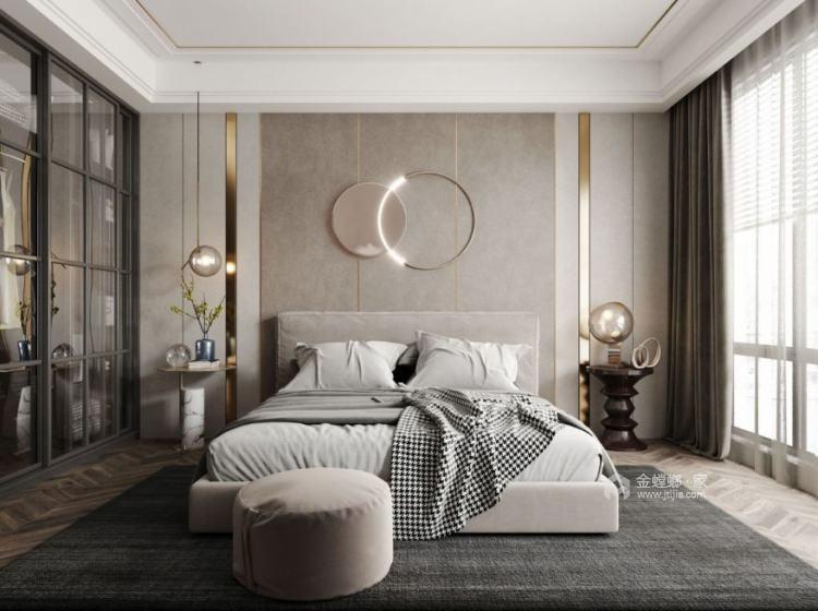 125平领地国际公馆现代风格-卧室效果图及设计说明