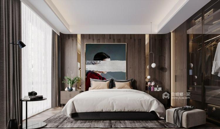 110平君悦湾现代风格-卧室效果图及设计说明