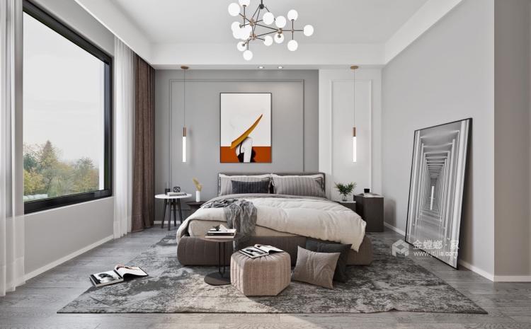 115平建发泱誉现代风格-独一无二的享受-卧室效果图及设计说明