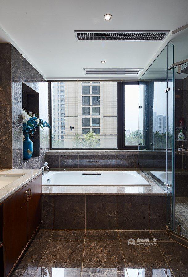 165平御景城新中式风格-闲居雅趣-卫生间