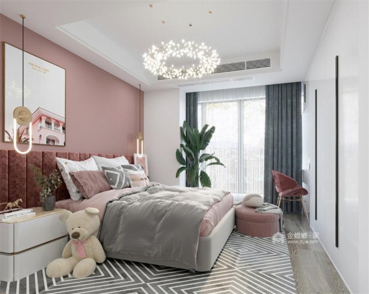 320平庄子别墅中式风格-春花秋月 夏蝉冬雪-卧室效果图及设计说明