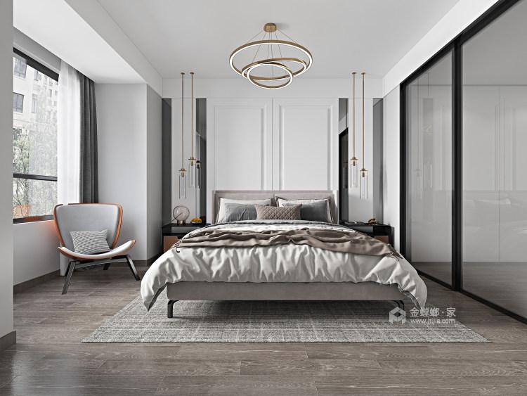 135平汀海壹品现代风格-雅韵-卧室效果图及设计说明