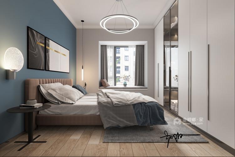 110平花径美邻现代风格-卧室效果图及设计说明