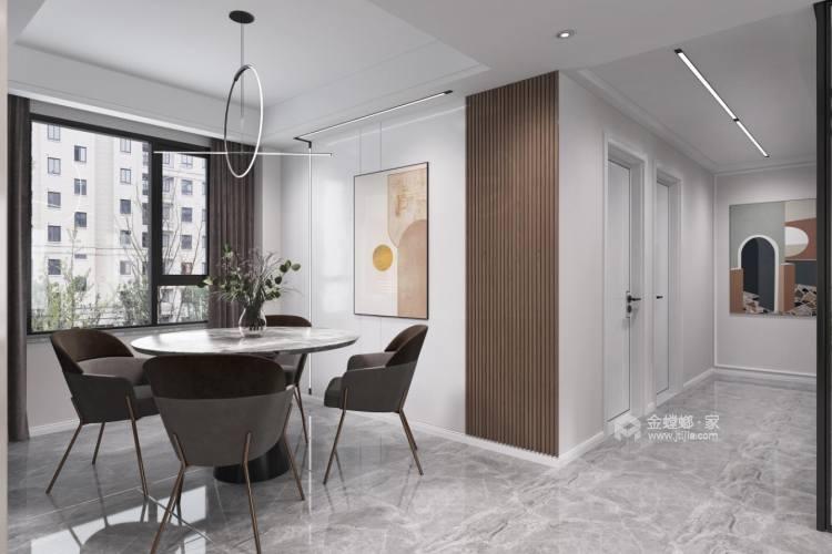141平观澜别院现代风格-餐厅效果图及设计说明