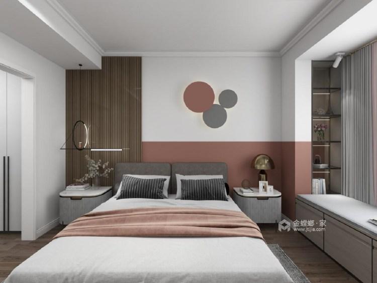 141平观澜别院现代风格-卧室效果图及设计说明