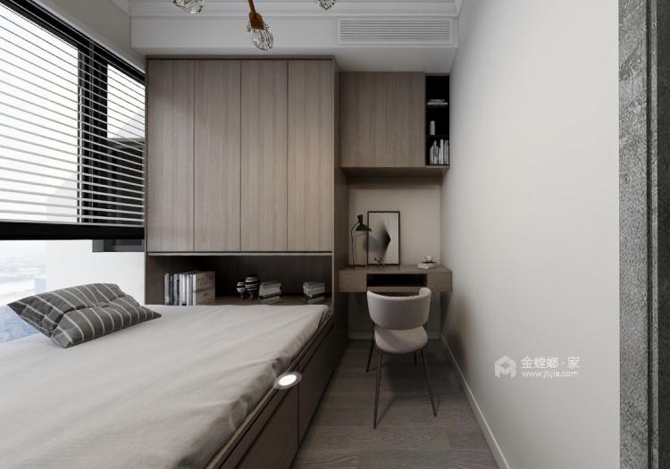 98平南山楠现代风格-心灵安防之所-卧室效果图及设计说明