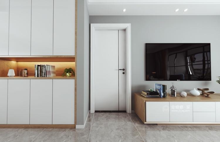 105平三千邑现代风格-简约时尚的设计  让家充满慵懒的舒适-空间效果图