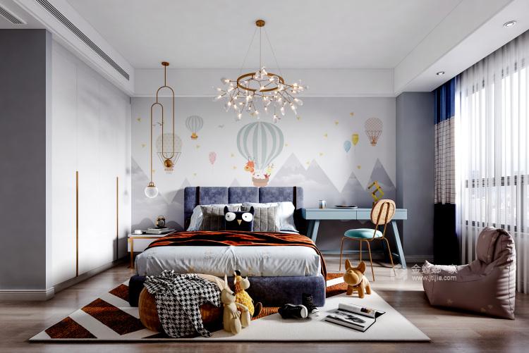 160平橡树湾现代风格-轻奢之美-空间效果图