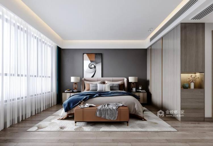 140平橡树湾欧式风格-格调之余~轻奢气质-卧室效果图及设计说明