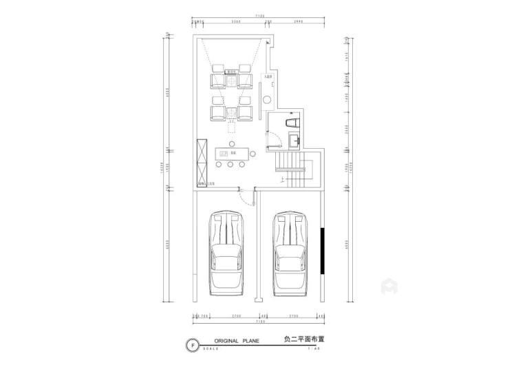 280平中海万锦园新中式风格-流印古意-平面设计图及设计说明