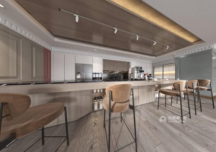 300平保利康桥现代风格-餐厅效果图及设计说明