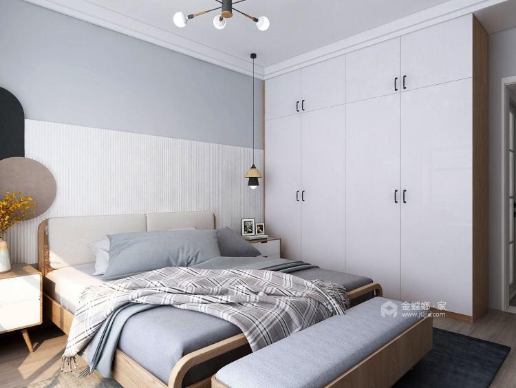 120平瑞马名门北欧风格-清新北欧三室 灰木色INS感居家