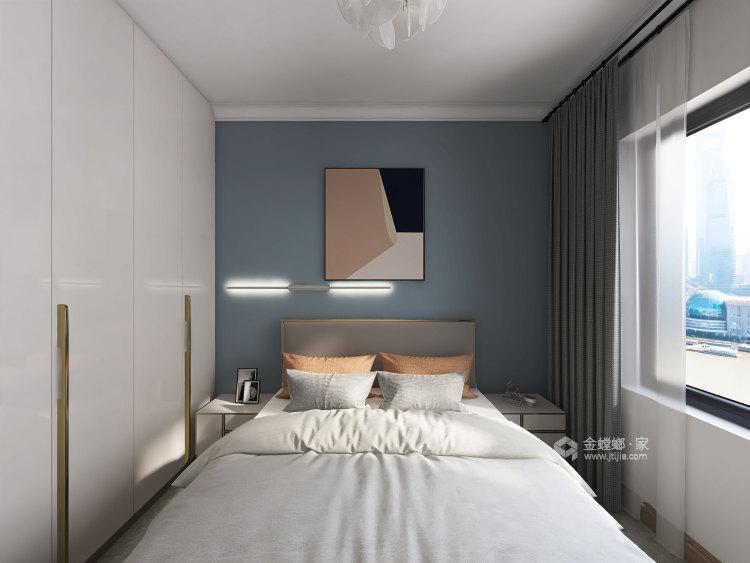 137平华润紫云府现代风格-轻奢初冬气息之美-卧室