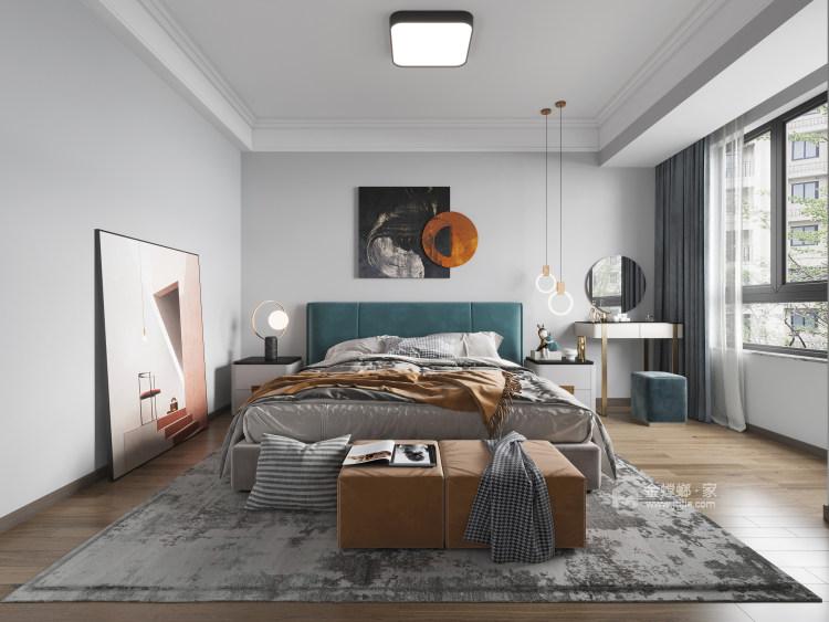 131平皖江雅居现代风格-春天记忆-卧室效果图及设计说明
