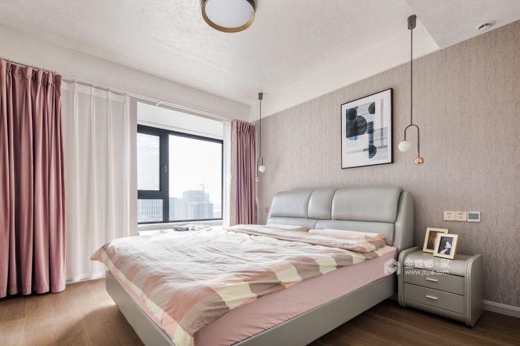 140平中梁1号院现代风格-舒适3口之家-卧室效果图及设计说明