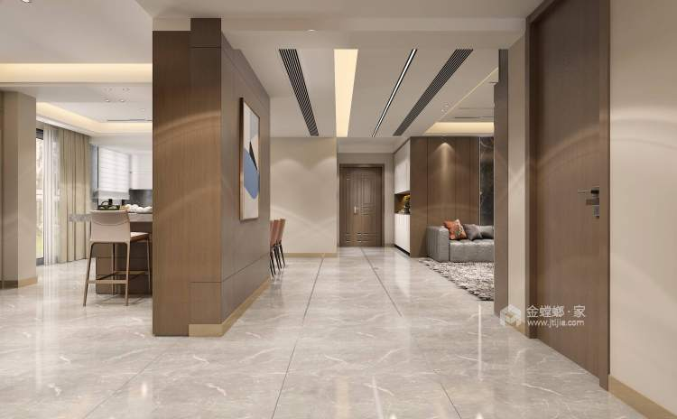 420平建业·山水湖城现代风格-厨房