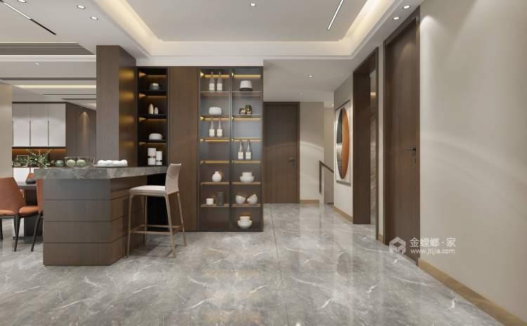 420平建业·山水湖城现代风格-餐厅效果图及设计说明