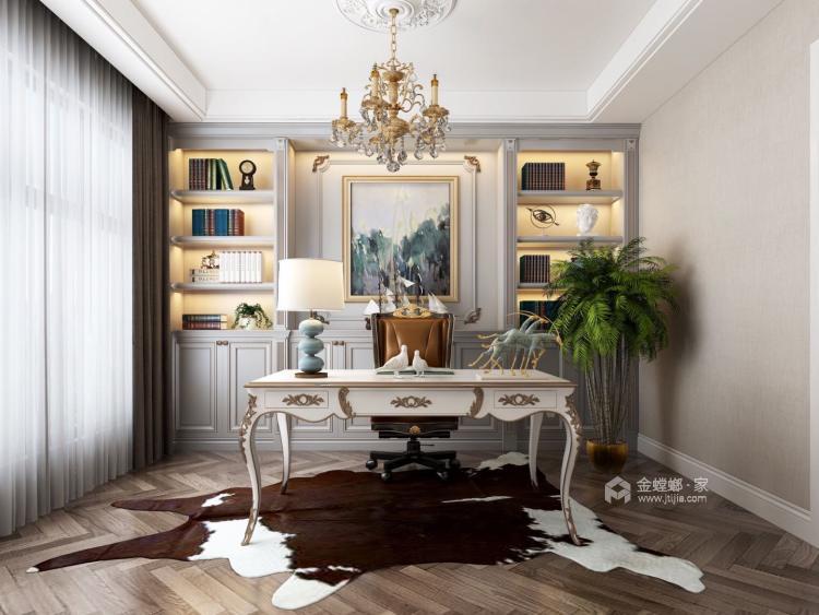 157平上虞·大通佳苑美式轻奢风格-卧室效果图及设计说明