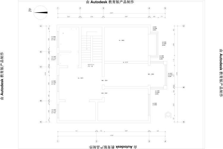 370平聚贤庭院新中式风格-业主需求&原始结构图