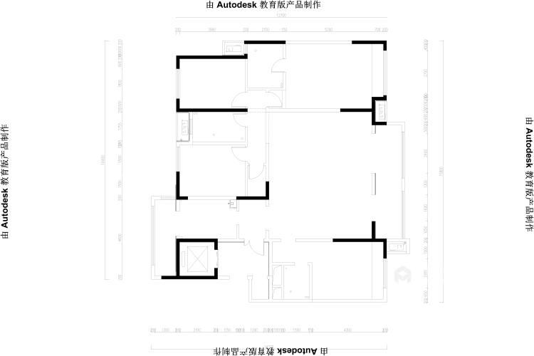 198平建业·公园里现代风-业主需求&原始结构图