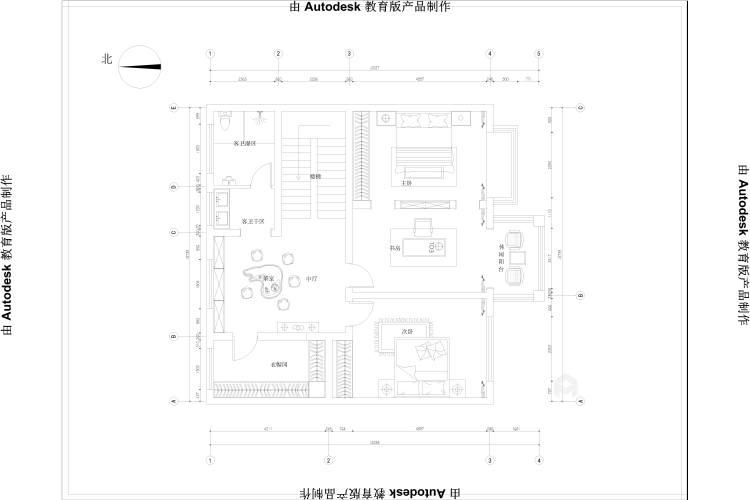 370平聚贤庭院新中式风格-平面设计图及设计说明