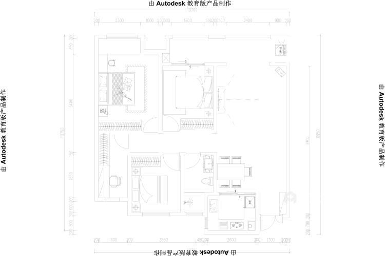 118平建业·公园里现代风格-平面设计图及设计说明