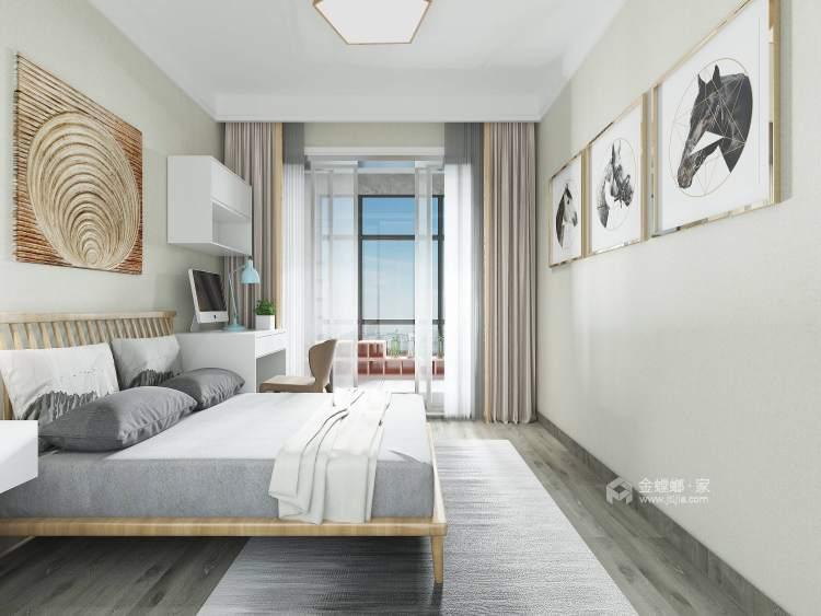 118平建业·公园里现代风格-卧室效果图及设计说明