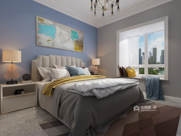 120平华恩城简美风格-精致并无繁华-卧室效果图及设计说明