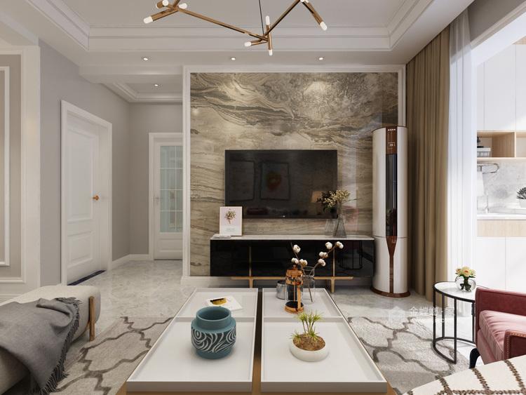 120平华恩城简美风格-精致并无繁华-平面设计图及设计说明