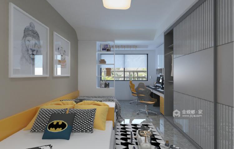 140平中房越秀城现代风格-家的遐思-儿童房