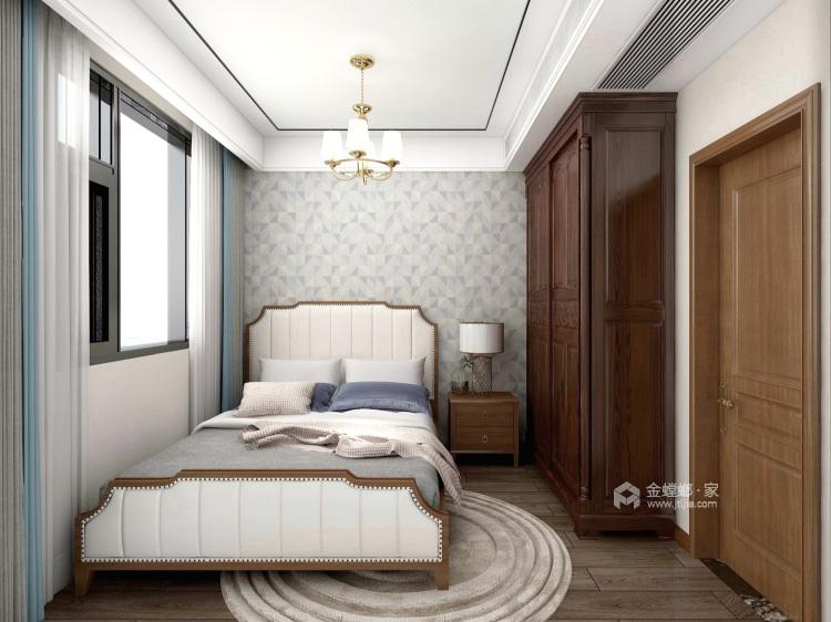 143平建业世和府美式风格-华丽深处,梦若浮生-卧室效果图及设计说明