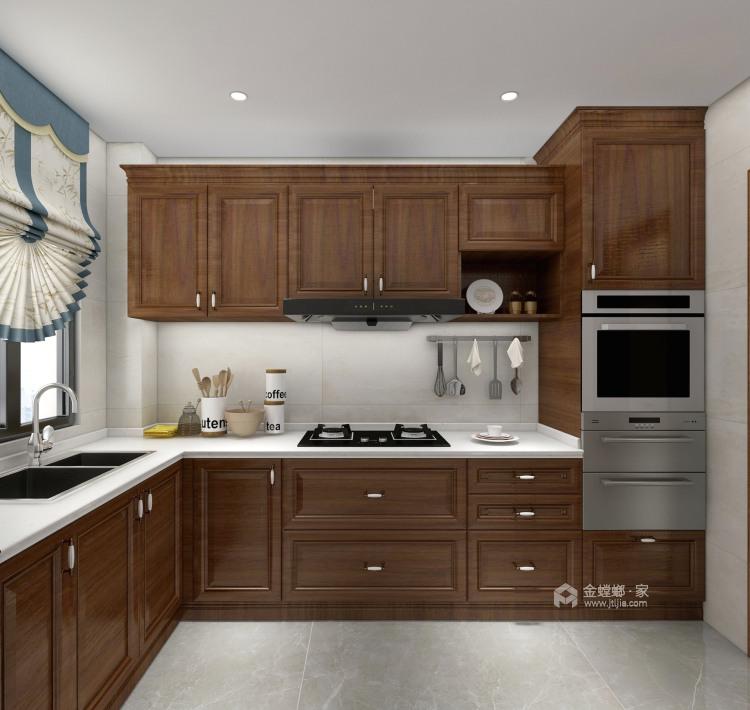 143平建业世和府美式风格-华丽深处,梦若浮生-厨房