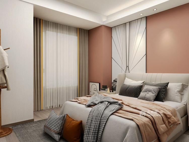 126平牡丹学府新中式风格-真实与诚恳-卧室效果图及设计说明