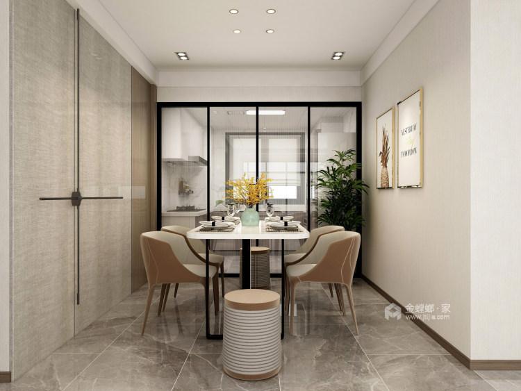 126平牡丹学府新中式风格-真实与诚恳-餐厅