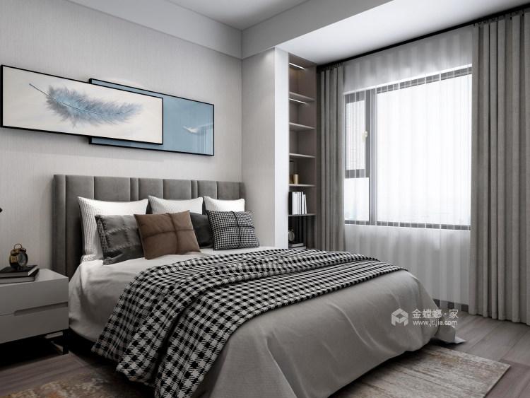 118平天宁吾悦现代风格-让家更亲切-卧室效果图及设计说明