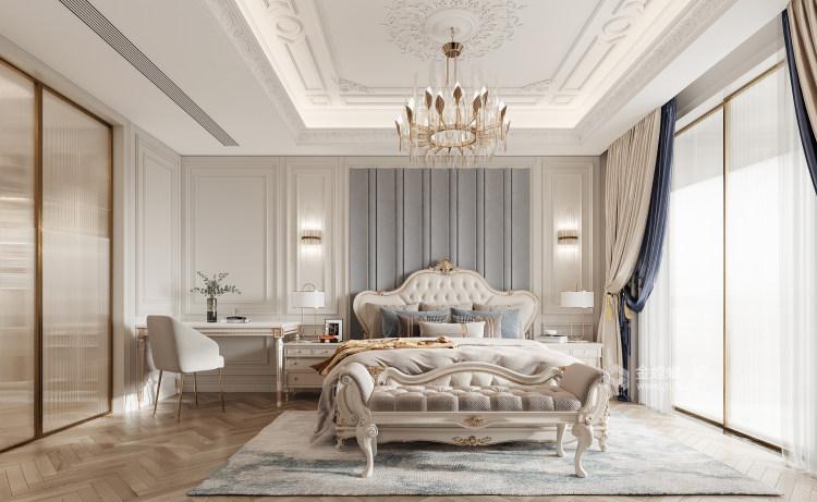 188平龙湖春江天玺法式风格-优雅是永不褪色的美-卧室效果图及设计说明