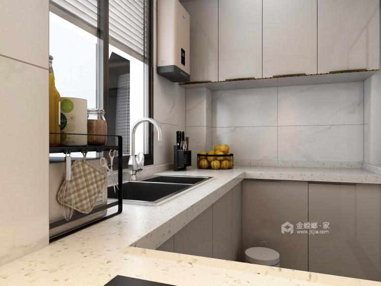 118平天宁吾悦现代风格-让家更亲切-厨房