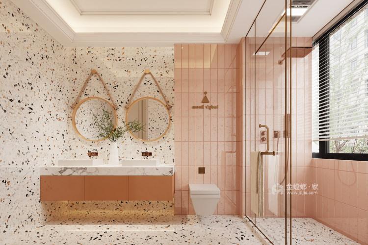 188平龙湖春江天玺法式风格-优雅是永不褪色的美-卫生间