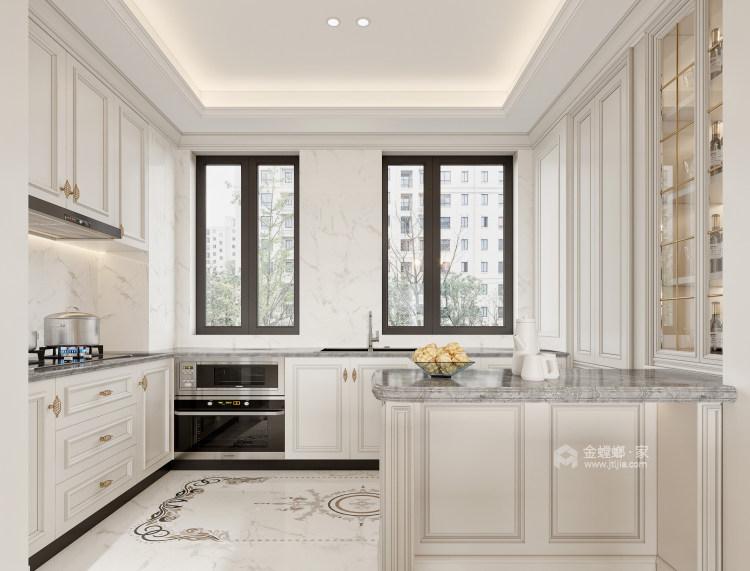 188平龙湖春江天玺法式风格-优雅是永不褪色的美-厨房
