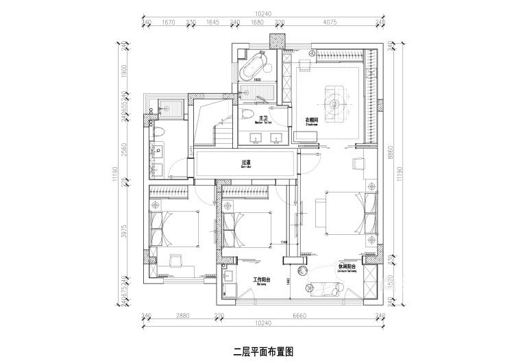 188平龙湖春江天玺法式风格-优雅是永不褪色的美-平面设计图及设计说明