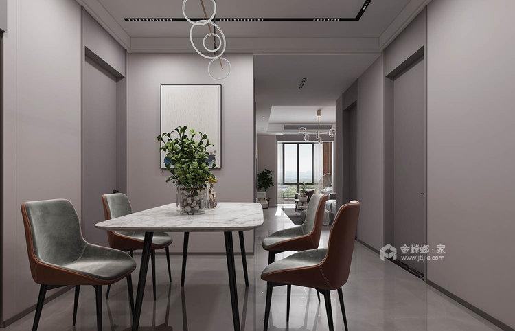 101平莱茵城中式风格-摩登-餐厅效果图及设计说明